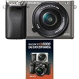 Sony Alpha 6000 Systemkamera inkl. SEL-P1650 Objektiv graphit-grau + Sony Alpha 6000 Handbuch