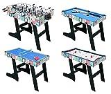 HLC 121.5*61*81.3 CM Zusammenklappbar 4 in 1 multifunkniertes Tischspiel --...
