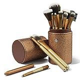 CINEEN Make up Pinselset 12 Stück Schmink Pinsel Kosmetikpinsel einschließlich Foundation...