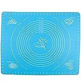Backmatte, Bukm, Silikon Backmatte, Nonstick Maße Fondant Teig Gebäck Backmatte, 50 * 40cm, für...