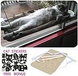 Katzenfenster Hängematte / Barsch für Sonnenbad, COUTUDI Bequemes stillstehendes Schlafbett für...