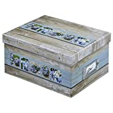 Hama 2171Hama Fotobox Rustikal Weiß/Blau 17x 22x 11700Fotos 10x 152171