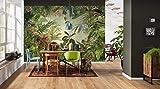 Komar - Vlies Fototapete INTO THE WILD - 368 x 248 cm - Tapete, Wand Dekoration, Regenwald,...