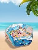 Sugar Q große bewegliche faltbare Pop-up-Spiel-Zelt-Ball-Gruben-Ball-Pool-Laufstall, ideal für...