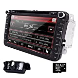 Hizpo Car Radio for Volkswagen/Skoda/Seat/Moniceiver/Naviceiver with GPS Navigation/Bluetooth...
