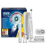 Oral-B Pro SmartSeries 6500 elektrische Zahnbürste, mit Timer und vier Aufsteckbürsten, Bonus Pack...