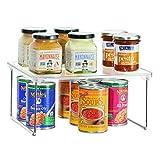 InterDesign Linus Küchenregal, Kunststoff, durchsichtig, 30,5 cm x 25,5 cm x 14,5 cm