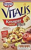 Dr. Oetker Vitalis KnusperPlus Multi-Frucht: Knuspermüsli mit einer Auswahl erlesener Früchte, 7er...