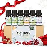 Skymore Naturreine Ätherische Öle Set,100% Pure Aroma Öle, (Zitronengras, Lavendel, Teebaum,...
