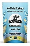 koawach Typ Vanille Kakaopulver mit Koffein aus Guarana Wachmacher Kakao - Bio, vegan und Fair Trade...