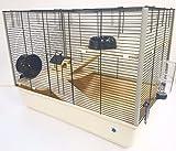 Grosvenor 2 Ebenen & Ebenen 3 Tier Großer Hamsterkäfig / Rattenkäfig Mit GRATIS Wasserflasche...