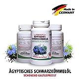 Bestes Schwarzkümmelöl Kapseln • 1500 mg pro Tagesdosis sehr hochdosiert • kaltgepresst •...