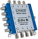 SCHWAIGER -5200- Multischalter 5 - 8 / Verteilt 1 SAT-Signal auf 8 Teilnehmer / SAT-Verteiler /...