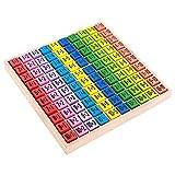 lzn Kinder Holz Frühe Pädagogische Spielzeug 99 Multiplikation Tabelle Mathe Spielzeug 10 * 10...