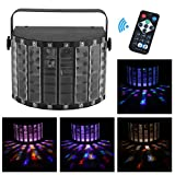 Homgrace 30W Led Par Licht Disco Lichteffekt Stroboskop Strahler DJ Projektor-Licht 6 Kanal DMX512...