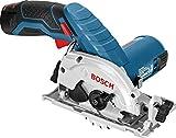 Bosch Professional Akku-Kreissäge GKS 12 V-26, kompakte Universalsäge mit 85 mm Sägeblatt, click...
