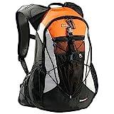 AspenSport Unisex Rucksack Minnesota, schwarz/orange, 53 x 35 x 20 cm, 35 liters, AB05X03