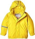 CareTec Kinder wasserdichte Regenjacke (verschiedene Farben), Gelb (Yellow 324), 116