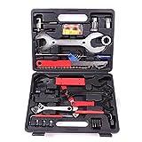 Fahrrad Werkzeug Reparatur Set 44 teilig Tool Box Werkzeugtasche Werkzeugkoffer Tragekoffer...