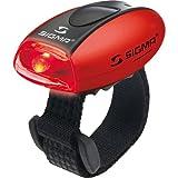 Sigma Sport Beleuchtung Micro - Rücklicht LED rot, permanent leuchtend/blinkend, 20 g,...