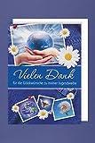 Jugendweihe Danksagungen Karte 5er Mehrstückpackung Weltkugel in Händen Vielen Dank 5 Doppel...