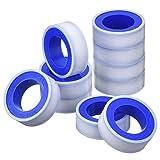 10 Rollen Breite 13,2 m Lang Industrielle Dichtband PTFE Band für Gas Wasser Rohr Fitting Gelenk,...