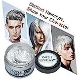 Einmaliges Haarfärbemittel Y.F.M. Silbergrau das Haar selbst färben einfach das Haar glitzern...