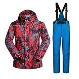 YFF Winter Ski Anzug Männer wasserdicht Winddicht atmungsaktiv Verdicken ski Jacke und Hose setzt