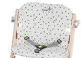 Safety 1st Timba Hochstuhl-Sitzkissen, schnelle und einfache Befestigung, waschbar, bietet dem Kind...