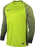 Nike Herren Torwarttrikot Gardien Goalkeeper LS Jersey, volt/black, L, 725882-702