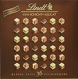 Lindt Mini Pralines Schicht-Nougat, Auswahl feinster Nougat Kreationen, 5 unterschiedliche Sorten,...