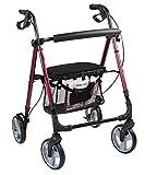 Antar Aluminium Leichtgewicht Rollator für Senioren mit abnehmbarer Einkaufstasche, bequemen Sitz...