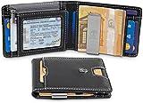 TRAVANDO Geldbörse mit Geldklammer DUBAI klein Geldbeutel Slim Wallet Männer Münzfach RFID...
