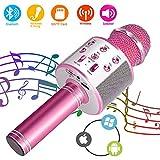 SunTop Bluetooth Karaoke Mikrofon, Handy Karaoke Microphone, Mikrofon Stereo Player für KTV Player...