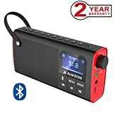 Avantree 3 in 1 Portable Fm Radio, Mini Bluetooth Lautsprecher Digital SD Card Player, Auto Scan...