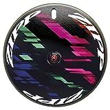 Zipp super-9Carbon Drahtreifen Disc hinten 10/11Speed SRAM Freilaufkörper schwarz Black Decal...