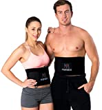 Premium Fitnessgürtel Set – inklusive Gratis Tragetasche und E-Book – hochwertiger...