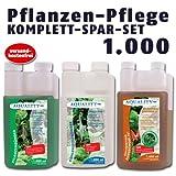 AQUALITY Pflanzen-Pflege KOMPLETT-SPAR-SET 1.000 (GRATIS Lieferung innerhalb Deutschlands - Perfekte...