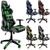 Diablo X-One Bürostuhl, Gaming Chair, Drehstuhl mit Armlehnen, Chefsessel, Gaming Stuhl,...
