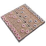 Gazechimp Chinesische Magnetische Schach Set - Magnetschach Brettspiele - Faltbar & Tragbar Reiseset...