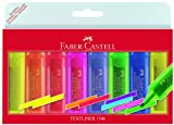 Faber-Castell 154662 - Textmarker TEXTLINER 1546, 1 - 5 mm, 8er Etui