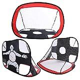 2in1 faltbares Kind Fußball Target Fußballtore Net.Für Kinder im Freien im Freienfußball,...