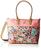 Oilily Damen M Carry All Schultertasche, Pink (Shell Pink), 15 x 27 x 32 cm