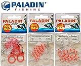 54 Paladin Silikon Stopper Perlen Schnurstopper Spirolino Pose, Forellenangeln, Angeln auf Forelle,...