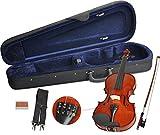 Handgearbeitetes Steinbach Geigenset in der Größe 4/4 inkl. Geigenbogen, Geigenkoffer und...