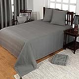 Homescapes waschbare Tagesdecke Sofaüberwurf Plaid Rajput 150x200 cm in Ripp-Optik Bettüberwurf...