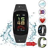 Evershop Bluetooth Smart Watch-1,5 Zoll IPS Round Touch Screen Smartwatch mit SIM-Karte und TF Card...