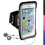 igadgitz u3044rutschfeste Sportarmband für Apple iPhone 64.72014ideal für Laufen,...