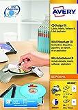 Avery CD Set mit Applikator, Software CD und Etiketten