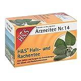 H&S Hals- und Rachentee Filterbeutel 20 St Filterbeutel